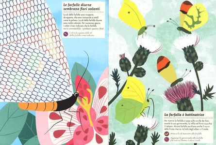 Libro Farfalle del mondo. Il mio albo della natura. Con adesivi Olivia Cosneau 1