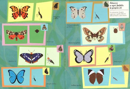 Libro Farfalle del mondo. Il mio albo della natura. Con adesivi Olivia Cosneau 4