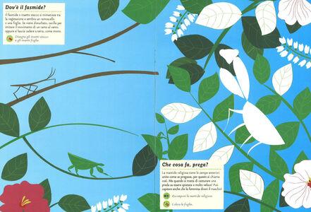 Foto Cover di Insetti del giardino. Il mio albo della natura. Con adesivi, Libro di Olivia Cosneau, edito da Mondadori 3