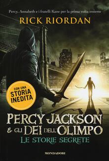 Percy Jackson e gli dei dellOlimpo. Le storie segrete: Il figlio di Sobek-Lo scettro di Serapide-La corona di Tolomeo.pdf