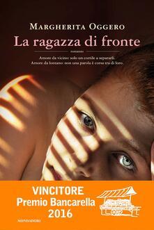 La ragazza di fronte - Margherita Oggero - copertina