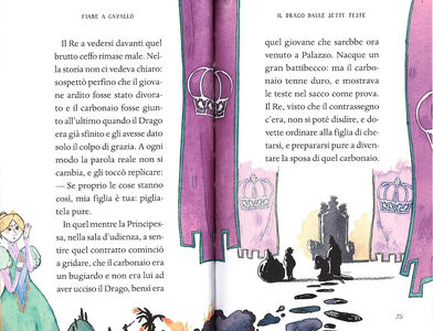 Foto Cover di Fiabe a cavallo. Fiabe italiane, Libro di Italo Calvino, edito da Mondadori 2