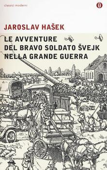 Le avventure del bravo soldato Svejk nella grande guerra - Jaroslav Hasek - copertina