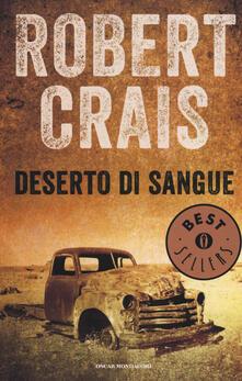 Deserto di sangue - Robert Crais - copertina