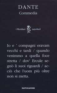 Libro Commedia Dante Alighieri