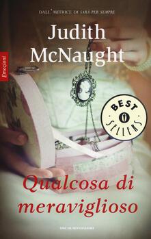 Qualcosa di meraviglioso - Judith McNaught - copertina