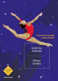 Effetto farfalla - Vanessa Ferrari - copertina