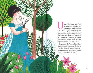Foto Cover di Fiabe per le bambine. Fiabe italiane, Libro di Italo Calvino, edito da Mondadori 3