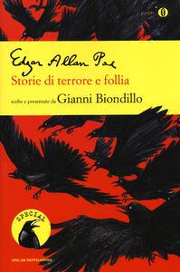 Libro Storie di terrore e follia Edgar Allan Poe
