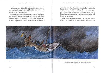 Foto Cover di Odissea raccontata ai bambini, Libro di Rosa Navarro Durán, edito da Mondadori 1