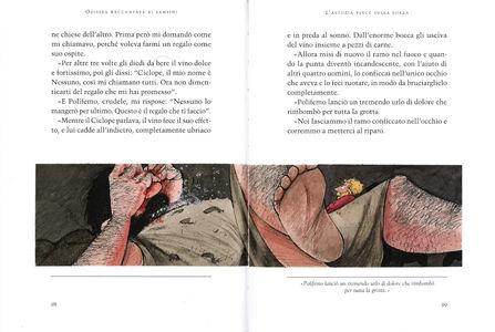Libro Odissea raccontata ai bambini Rosa Navarro Durán 2