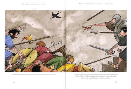 Foto Cover di Odissea raccontata ai bambini, Libro di Rosa Navarro Durán, edito da Mondadori 4