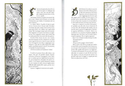 Libro La regina nel bosco Neil Gaiman 4