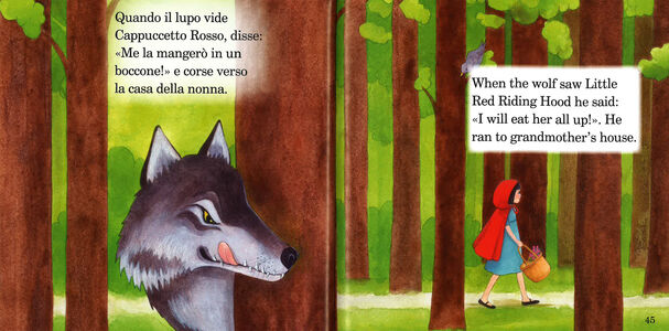 Libro Cappuccetto Rosso e altre fiabe-Little Red Riding Hood and other fairy tales. Con CD Audio  2