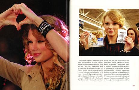 Foto Cover di Taylor Swift, Libro di Liv Spencer, edito da Mondadori 1