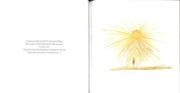 Foto Cover di La principessa del sole, Libro di David Grossman, edito da Mondadori 1