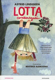 Lotta Combinaguai - Astrid Lindgren - copertina