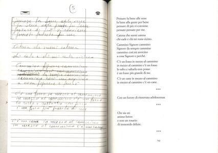 Foto Cover di Sotto le ciglia chissà. I diari, Libro di Fabrizio De André, edito da Mondadori 2