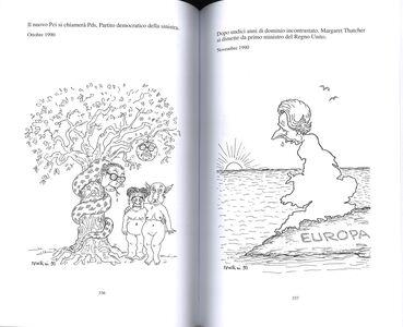 Libro Il Forattone. (1973-2015) mezzo secolo di satira Giorgio Forattini 2