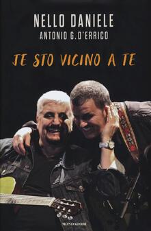 Je sto vicino a te - Nello Daniele,Antonio G. D'Errico - copertina