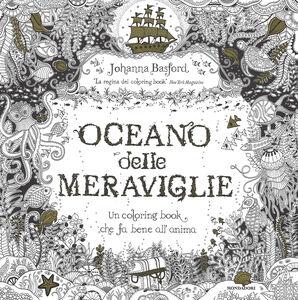 Libro Oceano delle meraviglie Johanna Basford 0