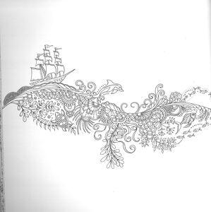 Libro Oceano delle meraviglie Johanna Basford 3