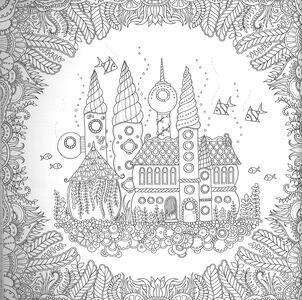 Libro Oceano delle meraviglie Johanna Basford 4