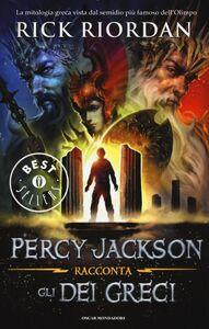 Libro Percy Jackson racconta gli dei greci Rick Riordan