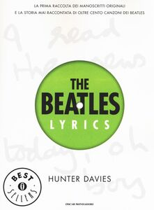 Libro The Beatles lyrics Hunter Davies