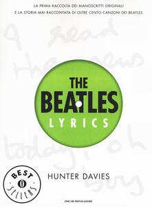 The Beatles lyrics - Hunter Davies - copertina
