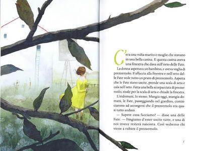 Foto Cover di Fiabe di fanciulle fatate. Fiabe italiane, Libro di Italo Calvino, edito da Mondadori 1
