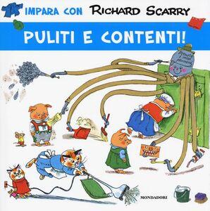 Libro Puliti e contenti! Richard Scarry 0