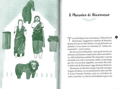 Libro Le 7 meraviglie del mondo antico Valerio M. Manfredi 3