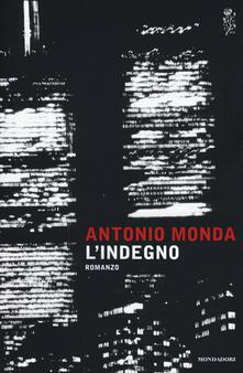 L' indegno - Antonio Monda - copertina