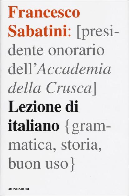 Lezione Di Italiano Grammatica Storia Buon Uso Francesco