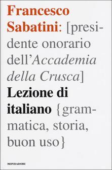 Milanospringparade.it Lezione di italiano. Grammatica, storia, buon uso Image