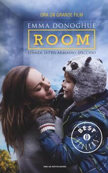 Room. Stanza, letto, armadio, specchio - Emma Donoghue - copertina