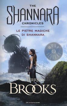 Le pietre magiche di Shannara - Terry Brooks - copertina