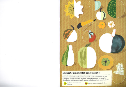 Libro I colori dell'orto. Il mio albo della natura. Con adesivi Olivia Cosneau 3