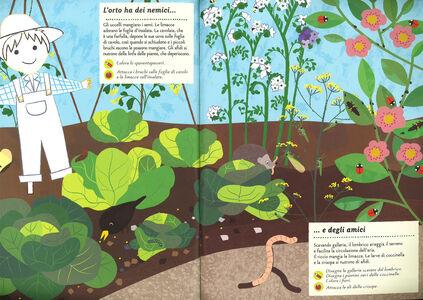 Foto Cover di I colori dell'orto. Il mio albo della natura. Con adesivi, Libro di Olivia Cosneau, edito da Mondadori 4
