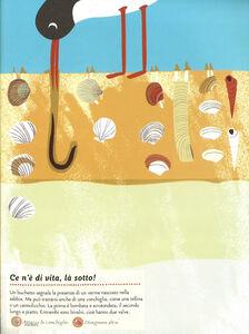 Libro Gli abitanti del mare. Il mio albo della natura. Con adesivi Olivia Cosneau 1