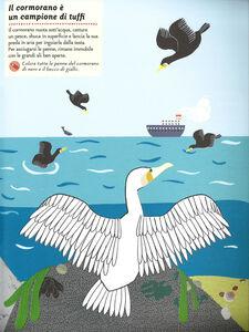 Libro Gli abitanti del mare. Il mio albo della natura. Con adesivi Olivia Cosneau 4
