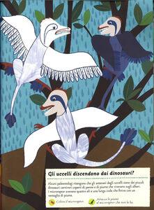 Libro Viva i dinosauri! Il mio albo della natura. Con adesivi Olivia Cosneau 1