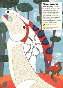 Libro Viva i dinosauri! Il mio albo della natura. Con adesivi Olivia Cosneau 2