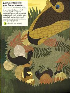Libro Viva i dinosauri! Il mio albo della natura. Con adesivi Olivia Cosneau 4