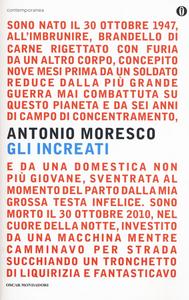 Libro Gli increati Antonio Moresco