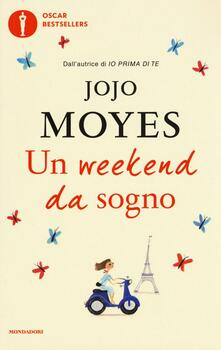 Un weekend da sogno - Jojo Moyes - copertina