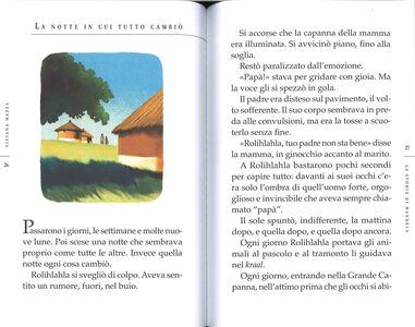 Foto Cover di La storia di Mandela raccontata ai bambini, Libro di Viviana Mazza, edito da Mondadori 1