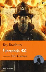 Foto Cover di Fahrenheit 451, Libro di Ray Bradbury, edito da Mondadori