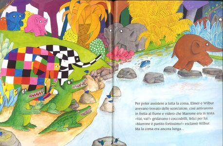 Libro La corsa di Elmer David McKee 4